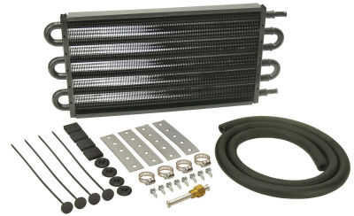 Derale Thin Line Copper Core Oil Cooler Kit