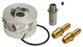 Oil Coolers Sandwich Adaptors - Thermostatic