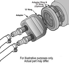 Engine Spin-On Adaptor Illustration