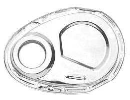 Small Block Chevrolet Chrome Timing Chain Cover