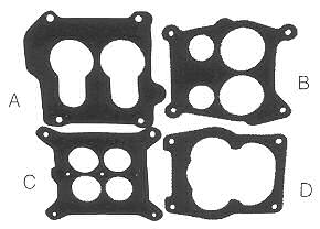 Carburettor Base Gaskets