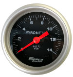 525-00 C Black. 2&quote; Exhaust Pyrometer