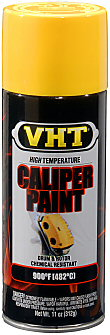 VHT Brake, Caliper, Drum and Rotor Paint—Bright Yellow (SP738)