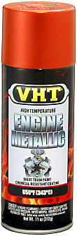 VHT Metallic Engine Enamel—Fire Red (SP 401)