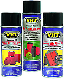 VHT Air Filter Cleaner and Air Filter Oils